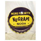 36IN NUGRAPE SODA SIGN