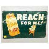 15X24 1953 EMB. COBLE DAIRY SIGN