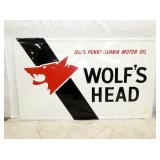 36X59 1972 EMB. WOLFS HEAD SIGN
