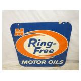 28X30 MACMILLAN RING FREE OIL SIGN