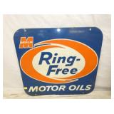 VIEW 2 OTHERSIDE RING FREE MOTOR OIL SIGN