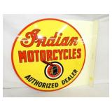 24X26 LIMITED INDIAN MOTORCYCLE FLANGE SIGN