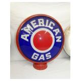 AMERICAN GAS W/ METAL BODY