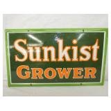 7X24 PORC. SUNKIST GROWER SIGN
