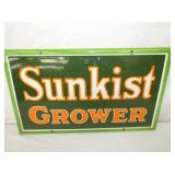 VIEW 2 CLOSEUP PORC. SUNKIST GROWER SIGN