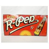 17X36 5CENT EMB. R-PEP SIGN