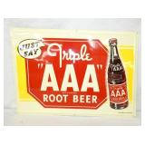 20X27 EMB. TRIPLE A ROOT BEER