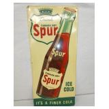 1947 13X30 EMB. SPUR W/ BOTTLE