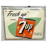 31X41 EMB. 7UP SIGN