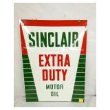 18X24 PORC. SINCLAIR EXTRA DUTY OIL SIGN