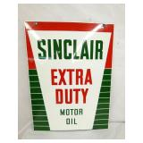 VIEW 2 OTHER SIDE SINCLAIR MOTOR OIL SIGN