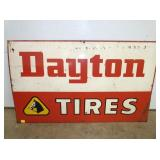 27X44 DAYTON TIRES SIGN