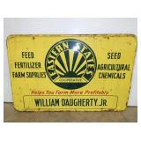 48X72 EMB. EASTERN STATES FEED & FARM SIGN
