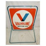 30X30 NOS VALVOLINE SIDEWALK SIGN