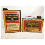 MCCORMICK DEERING, CREAM SEP. OIL CAN