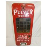 9X20 1CENT PORC. PULVER GUM DISPENSER