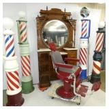 GROUP PICTURE BARBER SHOP ITEMS