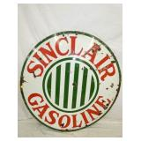 48IN PORC. SINCLAIR GASOLINE SIGN