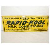 10X28 RAPID KOOL MIL CONDITIONER SIGN