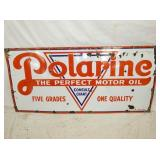 28X60 PORC. POLARINE OIL SIGN