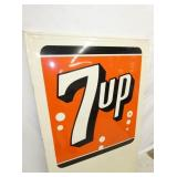 VIEW 2 CLOSEUP 7UP SELF FRAMED SIGN