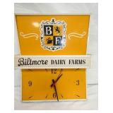 16X19 LIGHTED BILTMORE DAIRY CLOCK