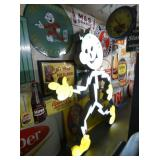 8FT. NEON REDDY KILOWATT LIGHTED