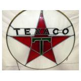 VIEW 2 CLOSEUP STAINED GLASS TEXACO