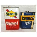 10QTS SUNOCO, 2G. SUNOCO CANS