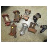 VARIOUS EARLY GAS NOZZLES