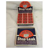 NOS STOP LEAK COUNTER DISPLAYS
