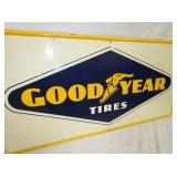 VIEW 2 CLOSEUP CLEAN GOODYEAR SIGN