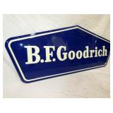 VIEW 2 CLOSEUP CLEAN B.F GOODRICH SIGN