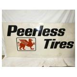 47X95 PEERLESS TIRES SIGN