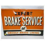 24X36 EMB. EXPERT BRAKE SERVICE SIGN