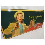 VIEW 2 1954 COKE CARDBOARD