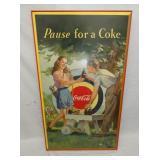 1948 30X50 COKE ARCHERY CARDBOARD