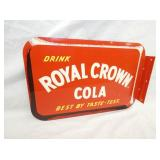 NOS ROYAL CROWN FLANGE SIGN