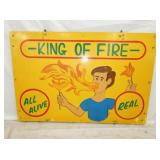 CARNIVAL KING OF FIRE SIGN