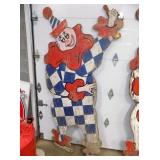 VIEW 2 DIE CUT CARNIVAL CLOWN
