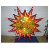 RARE 60IN CIRCUS ANIMATED STAR LIGHT