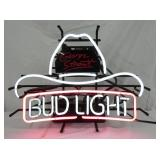 BUD LIGHT COWBOY HAT NEON SIGN