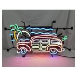 5 COLOR BEACH BUGGY NEON SIGN