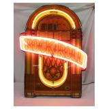 ROCK AND ROLL JUKE BOX NEON