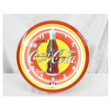 20IN COCA COLA NEON CLOCK