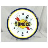 20IN SUNOCO NEON CLOCK