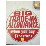 15IN FIRESTONE TRADE IN SIGN