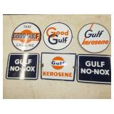 GOOD GULF, NO-NOX PUMP PLATES