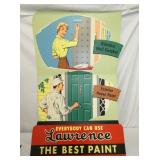 24X36 LAWRENCE PAINTS EASEL BACK SIGN