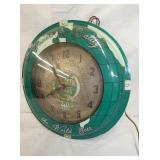 VIEW 2 14IN QUAKER STATE STORE CLOCK
